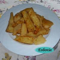 Πατάτες φούρνου με θυμάρι και πάπρικα
