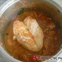 Κοτόπουλο κοκκινιστό