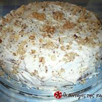 Carrot Cake με cream cheese frosting