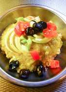 Φάβα Πράσινη με Ρύζι