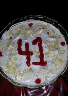 Ελαφριά τούρτα αμυγδάλου