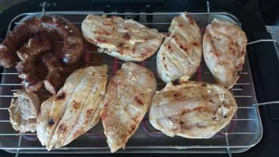 Κρέας ψητό σε μαρινάδα