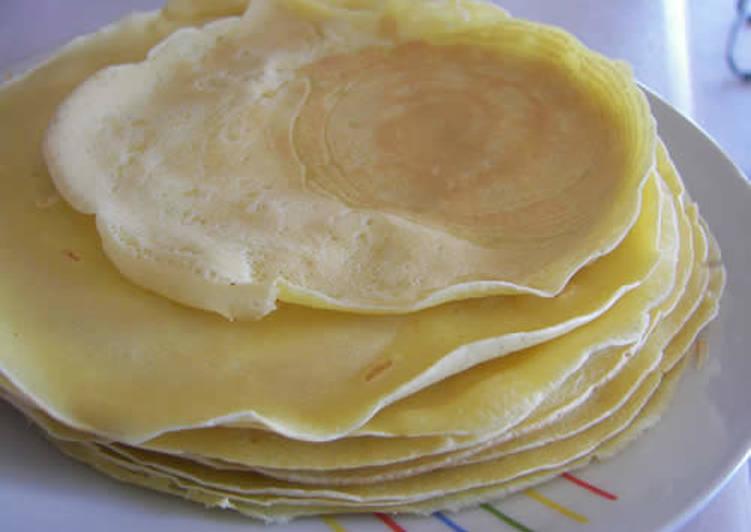 Κρέπες (βασική συνταγή)