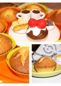Ατομικά κεϊκάκια με πορτοκάλι