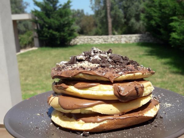 Fluffy Pancakes- Αφράτα παν κέικ