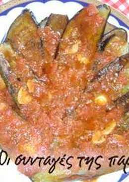 Τηγανητά λαχανικά με σάλτσα ντομάτας
