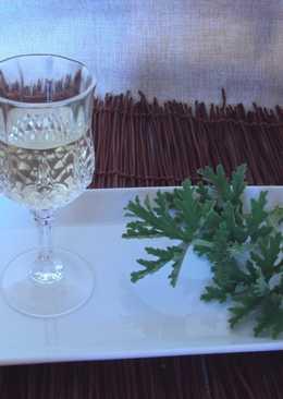 Λικέρ Αμπορόριζα με λευκό κρασί