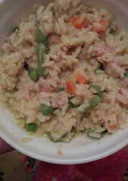 Ρύζι με τόνο και λαχανικά
