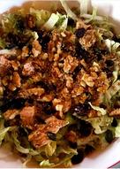 Σαλάτα με μαρούλι και τόνο