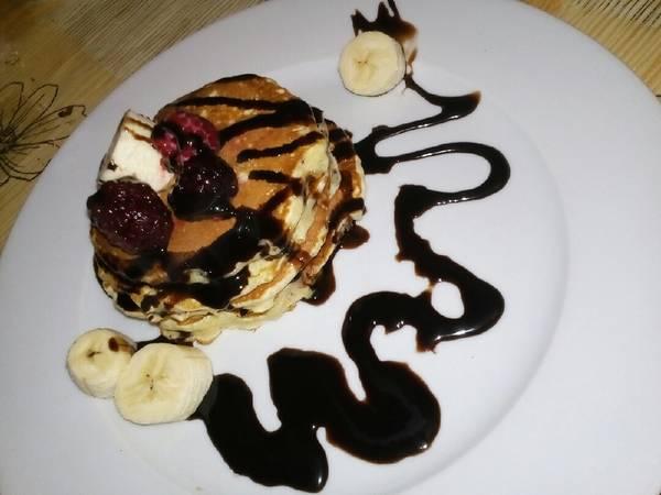 Pancakes (γλυκά ή αλμυρά)