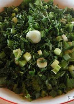 Σαλάτα με μαρούλι και σκόρδο