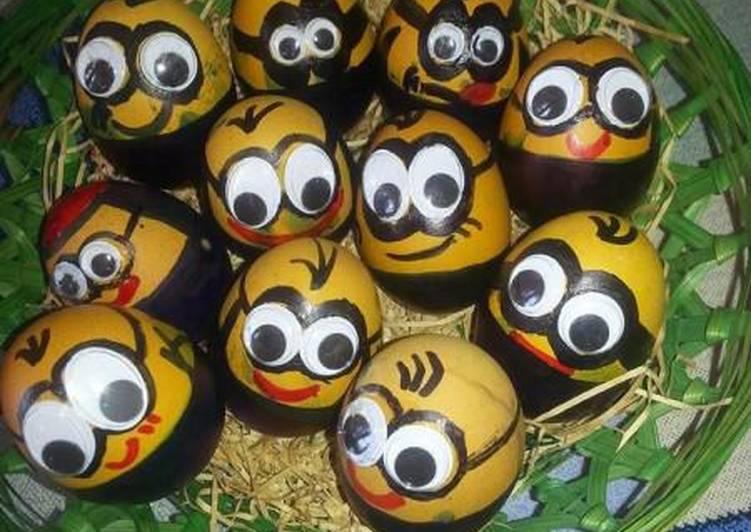 Αυγά minions!