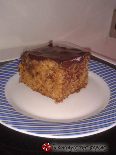 Καρυδόπιτα με σοκολάτα 5