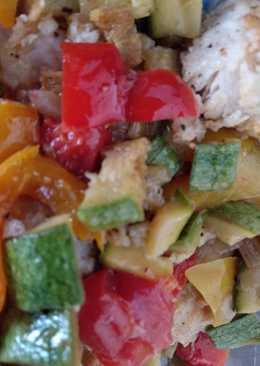 Ψάρι Πέρκα με λαχανικά