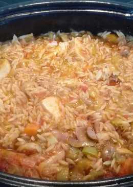 Γιουβέτσι κοτόπουλο με λαχανικά