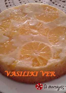 Ανάποδο κέικ πορτοκάλι