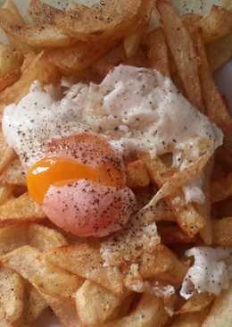 Πατάτες τηγανητές με αυγό!