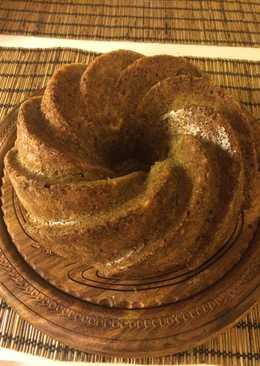 Πανεύκολο κέικ μήλου με αλεύρι ζέας και στέβια