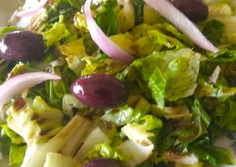 Σαλάτα με μαρούλι