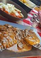 Μοσχαρίσιο φιλέτο με σάλτσα μανιταριών