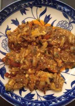 Μύδια σαγανάκι στο φούρνο