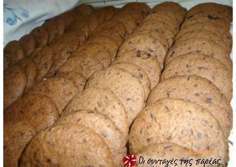 Cookies σοκολάτας εύκολα και πολύ νόστιμα