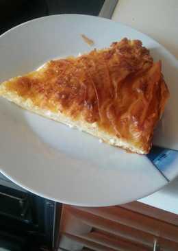 Τυρόπιτα μέ κατσικίσιο τυρί!!! (Για τεμπέληδες)