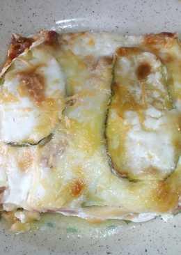 Parmigiana Bianca di Zucchini
