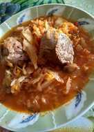 Λαχανοφαγητό με μοσχαρίσιο κρέας