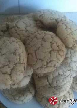 Cookies του Άκη Πετρετζίκη με κομματάκια σοκολάτας