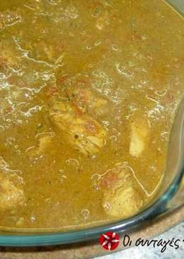 Κοτόπουλο Vindaloo