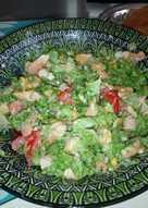 Σαλάτα caesar ενισχυμένη