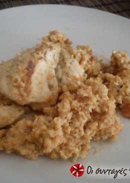 Κοτόπουλο με ξινόχοντρο