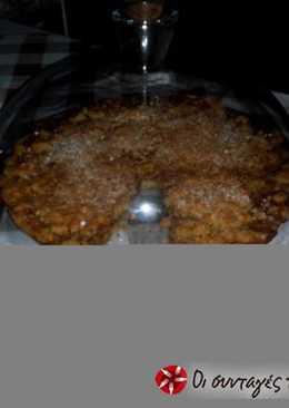 Μηλόπιτα με ζύμη μπισκότου