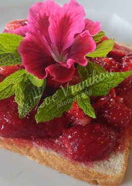 Ψωμί με φράουλες