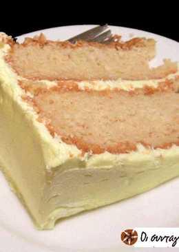 Τούρτα λεμονιού (Lemon-Lime Cake)