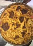 Μοσχάρι με μακαρόνια στο φούρνο