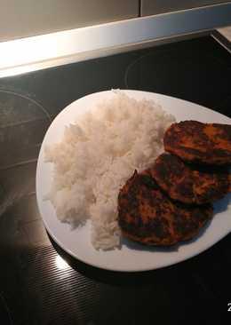Φασολοκεφτέδες με κοτόπουλο και λαχανικά