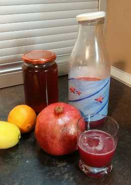 Χυμός ρόδι, λεμόνι, πορτοκάλι ! Για ενέργεια στις #εξετάσεις