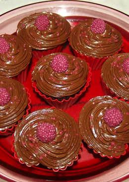Νηστίσιμα muffins σοκολάτας