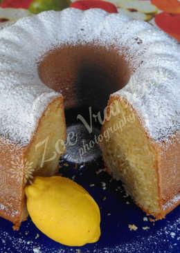 Κέικ λεμόνι με ελαιόλαδο
