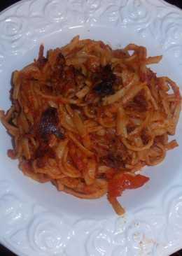 """Τα spaghetti της φόνισσας (""""spaghetti all assassina"""")"""
