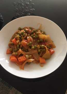 Αρακάς με καρότα