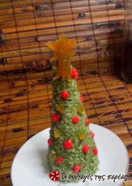 Σοκολατένια χριστουγεννιάτικα ελατάκια