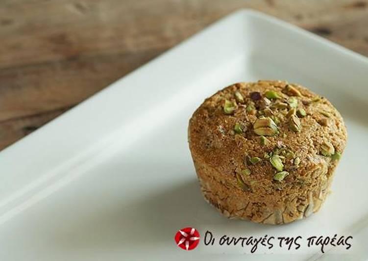 Muffin Ολικής Αλέσεως, με Αμάρανθο και Χουρμάδες