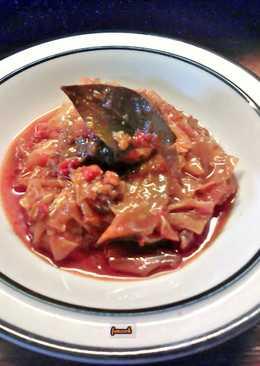 Χοιρινό με λάχανο σε slow cooker