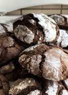 Μπισκότα σοκολάτας κρακελέ