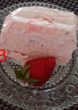Παγωτό φράουλα λάιτ