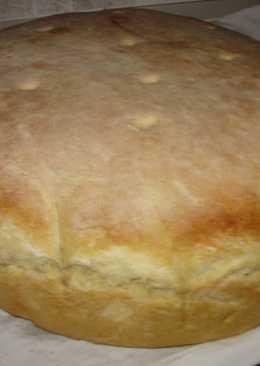 Ψωμί με προζύμι βασιλικού προ γιαγιάς
