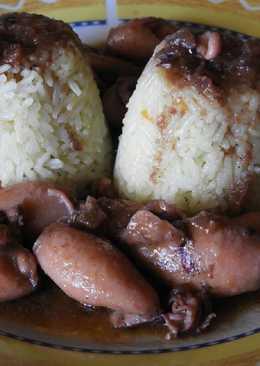 Καλαμαράκια Λεμονάτα και Σκορδοκρασάτα